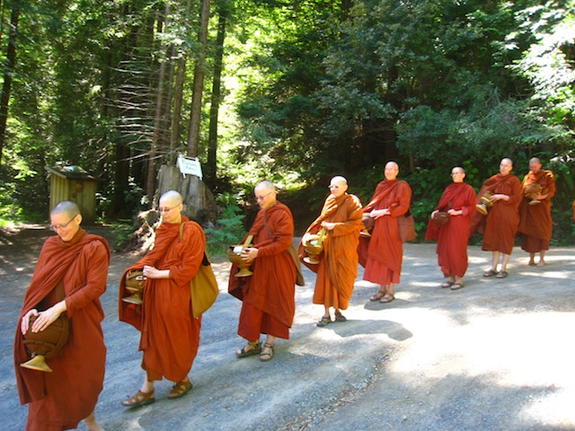 Bhikkhuni gathering at Aranya Bodhi Hermitage, June 2013